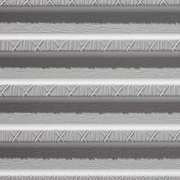 Trapezprofil mit Kreuz-Kerbenstruktur